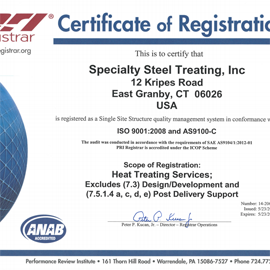 CT ISO 2104 Certification