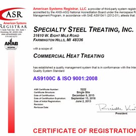 FH 9100 Certification