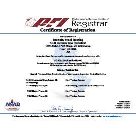 SST Certification
