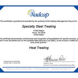 Nadcap Malyn Certification