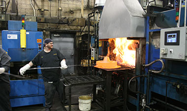 Steel tempering process